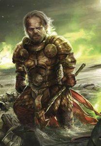 Ilustración de Tyrion Lannister en el Aguasnegras por Magali Villeneuve