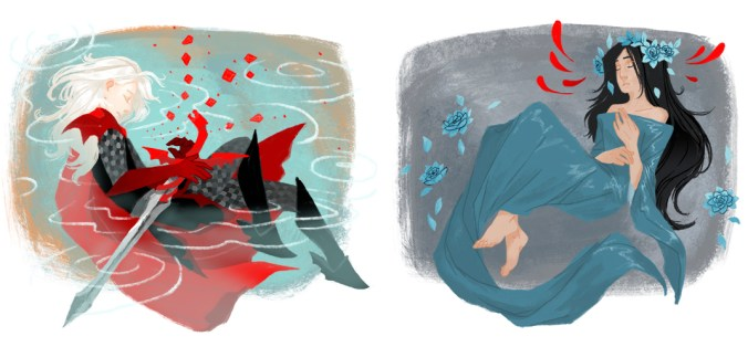 Rhaegar Targaryen y Lyanna Stark