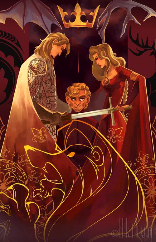 Cersei, Jaime y Tyrion Lannister