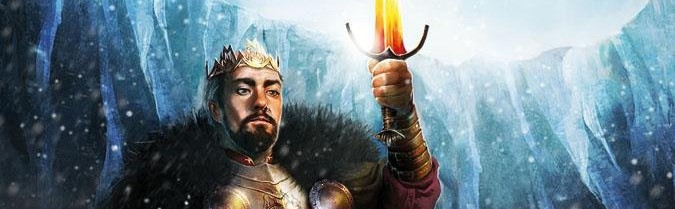 Ilustración de Stannis Baratheon con Dueña de Luz