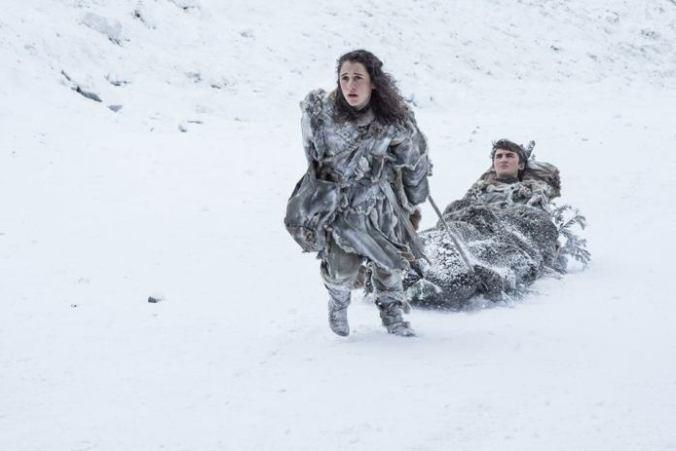 Meera, Bran, nuevas imágenes