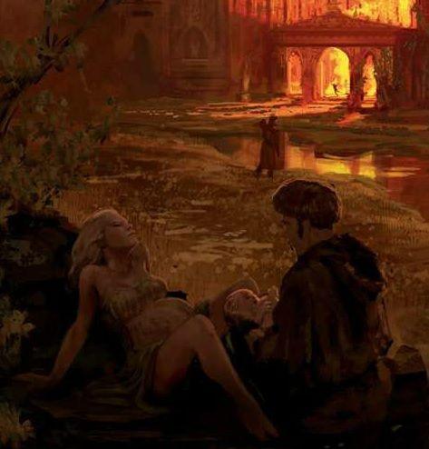 Rhaella Targaryen da a luz al príncipe Rhaegar en la Tragedia de Refugio Estival