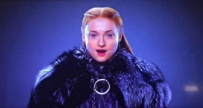 Sansa Stark en promo de HBO