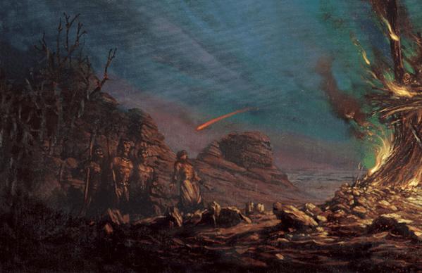 El cometa rojo o el Mensajero Rojo