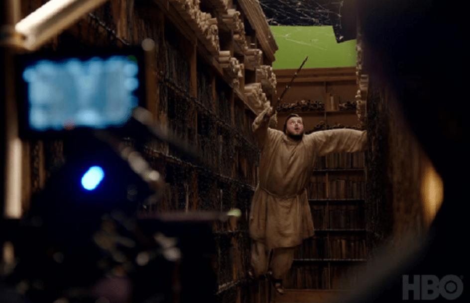 Imágenes promocionales Got Temporada 7. Sam en la biblioteca de Antigua