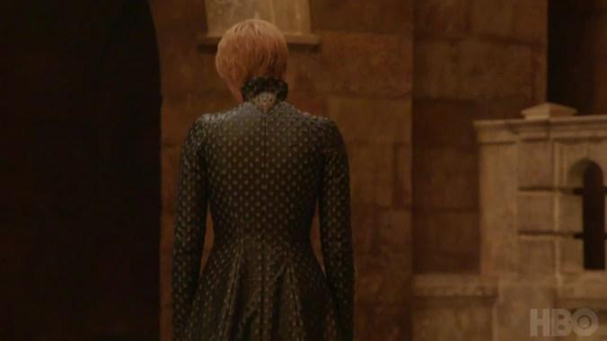 Vestido de Cersei Lannister en la séptima temporada de Juego de Tronos