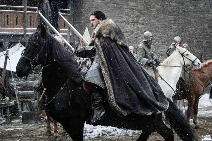 Jon Snow en la séptima temporada de Juego de Tronos