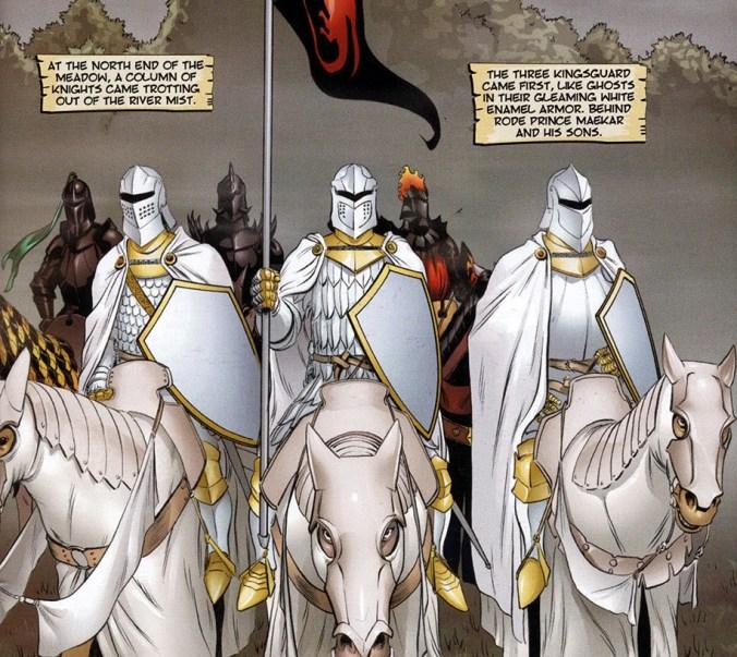 La Guardia Real en el cómic de El Caballero Errante