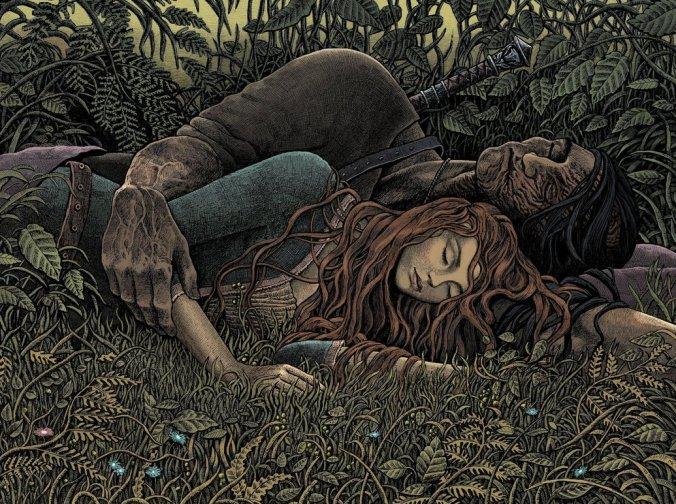 Sandor Clegane o el Perro y Sansa Stark