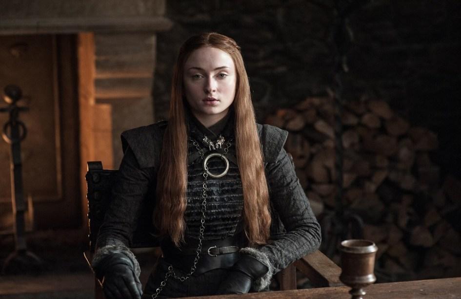Sophie Turner como Sansa Stark en la séptima temporada de Juego de Tronos