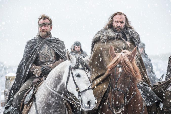 Beric Dondarrion y el Perro en la séptima temporada de Juego de Tronos