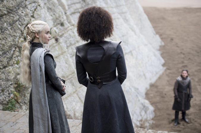 Daenerys y Missandei