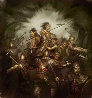 Primeros Hombres e hijos del bosque