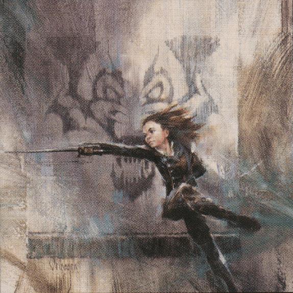 Arya Stark con Aguja