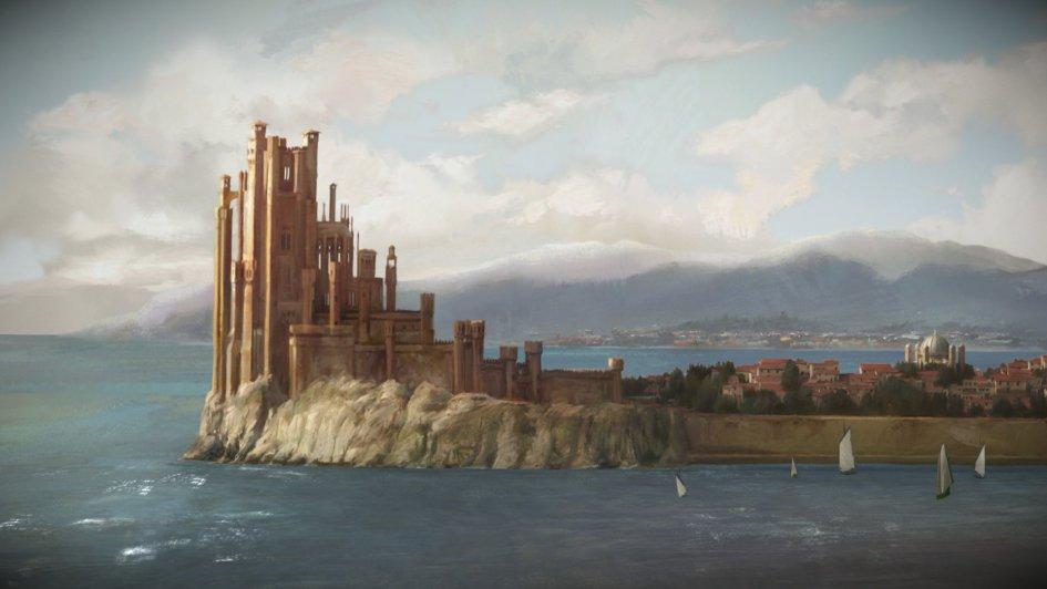 La Fortaleza Roja en Desembarco del Rey