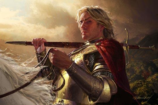 Jaime Lannister, por Michael Komarck