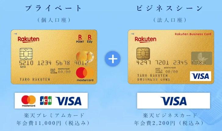 ビジネスアカウントカード