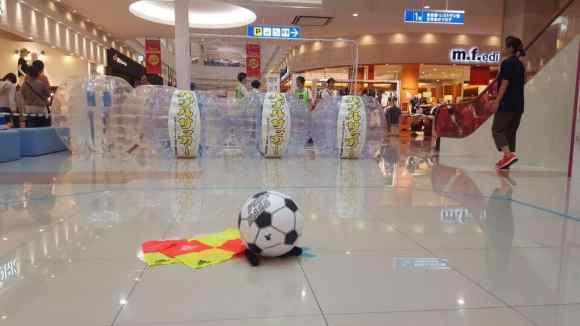バブルサッカーレンタル 徳島