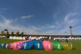 バブルサッカー2020年
