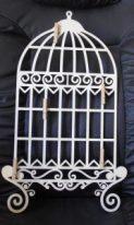Cage à oiseau porte photos
