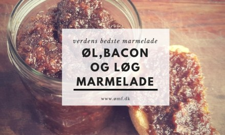 Øl, Bacon og Løg Marmelade