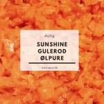 Sunshine gulrod ølpuré