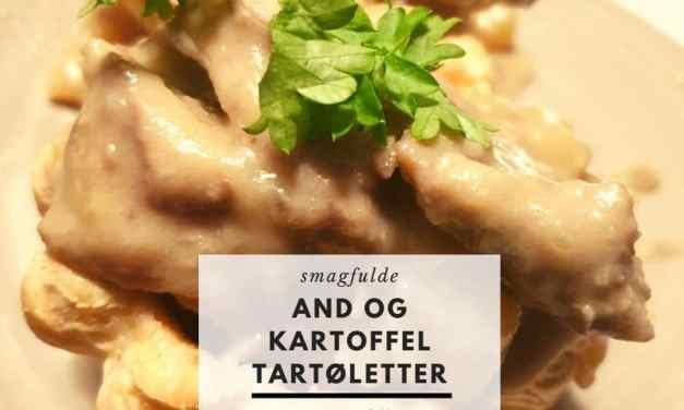 Ande- og kartoffel tartØLetter