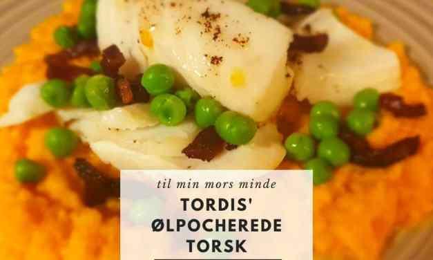 Tordis' ølpocherte torsk