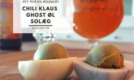 Chili KLaus Ghost øl solæg