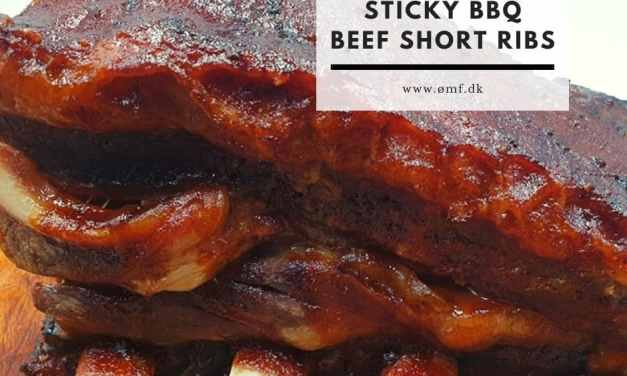 Sticky BBQ Beef short ribs