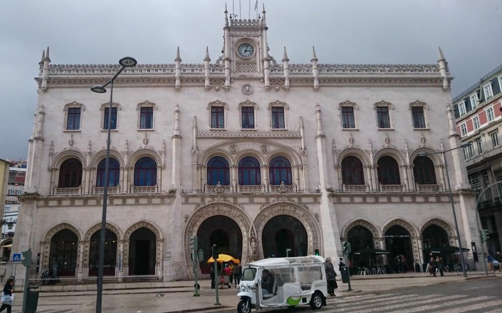 Lizbona dworzec Rossio