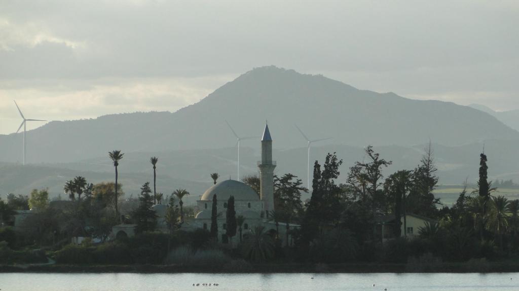 Co warto zobaczyć w Larnace - meczet Hala Sultan Tekke