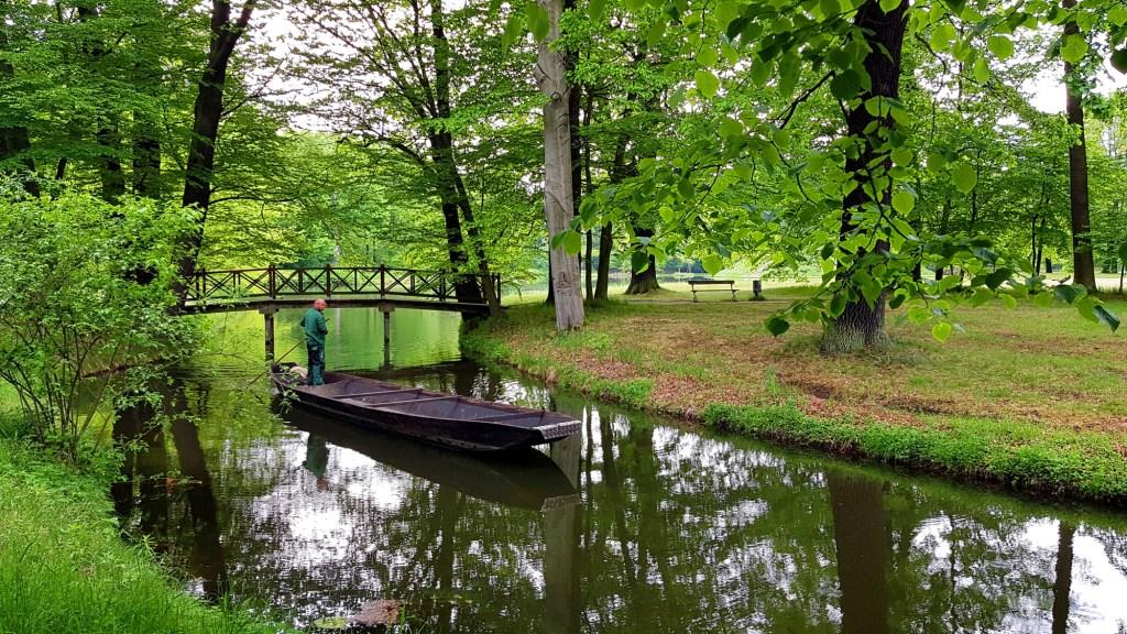 Park i zamek Branitz w Cottbus