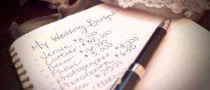 Budget mariage, établir son budget, prestataires, coût, planifier, établir un budget