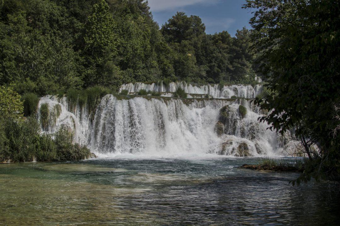 Croatie, voyages, nature, chutes naturelles, parc naturel, voyage de noces