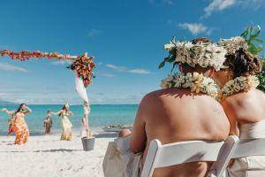 cérémonie laïque, mariage plage, mariage tahiti