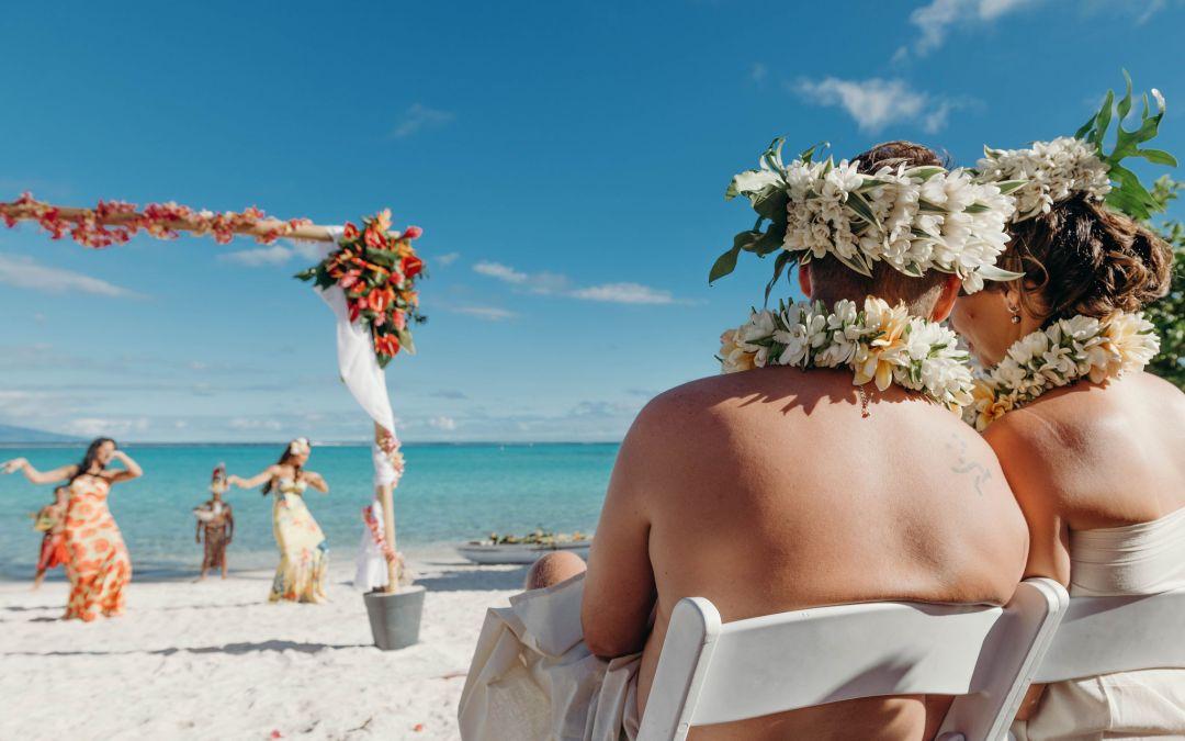 Un mariage à Tahiti