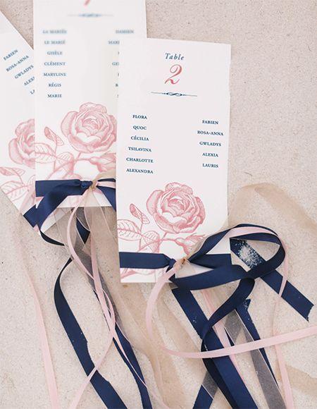 Mariage bleu et rose, décoration de mariage, idées de décorations mariage, Montpellier, Perpignan