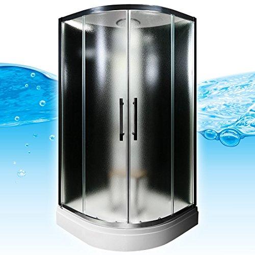 AcquaVapore QUICK16-0314 Dusche Duschtempel Komplette Duschkabine 80x80