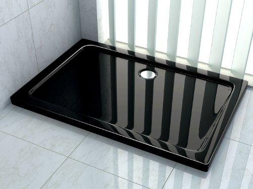 50 mm Duschtasse 140 x 90 cm (schwarz)
