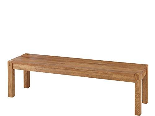 ROXANNE Landhausstil Sitzbank aus Eiche massiv geölt 160cm