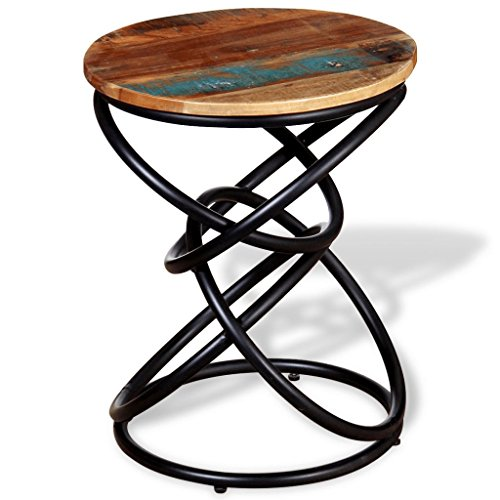 vidaXL Beistelltisch Couchtisch Wohnzimmertisch Tisch Aufgearbeitetes Massivholz