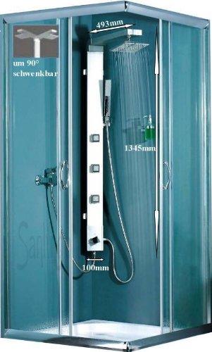Aluminium Duschpaneel Duschsäule von Sanlingo