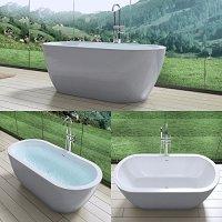 Extravagante Design Badewanne Vicenza501, freistehend in ...