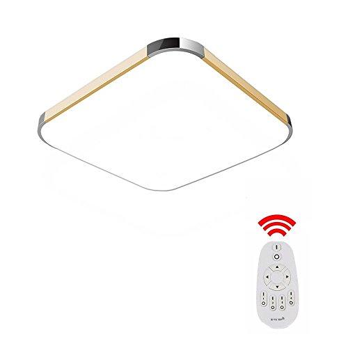 mctech 36w dimmbar led deckenleuchte modern deckenlampe flur wohnzimmer lampe schlafzimmer ac. Black Bedroom Furniture Sets. Home Design Ideas