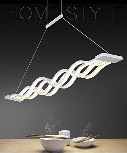 Moderne Welle LEDPendelleuchte Deckenleuchter LichtLED