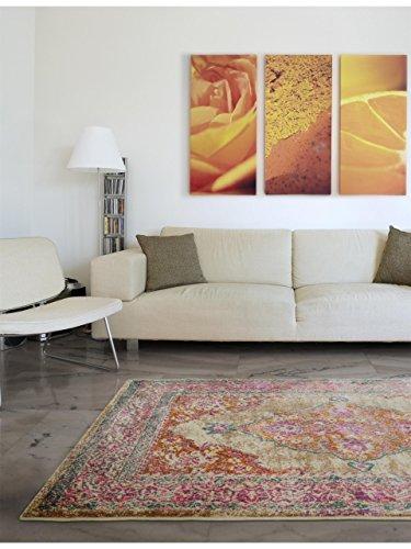 benuta Teppich Vero Pink 80x150 cm  Moderner Teppich fr Wohn und Schlafzimmer  MBEL24