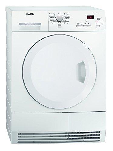 AEG Lavatherm T6537AH3 Wärmepumpentrockner/A+/7 kg/Spezielle Programme zum Trocknen von Wolle und Seide/Weiß [Altes Modell]