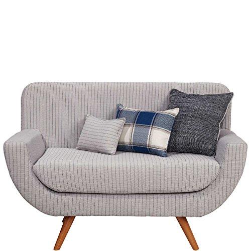 Sofabank inklusive 3 Kissen - Retro-Couch Polstermöbel - Designerstück - Polly BUTLERS