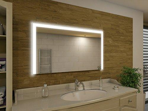 Seattle21 LED Spiegel Badspiegel mit Beleuchtung verschiedene Gren auswhlbar modern und